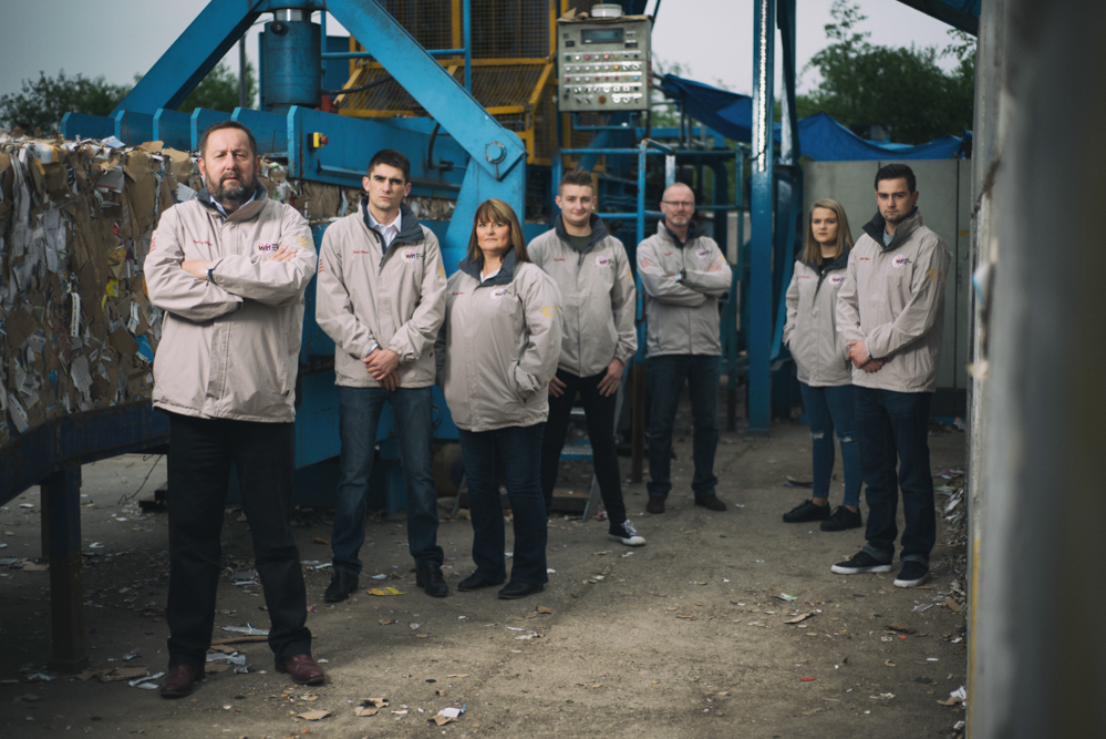 Corby Recycling Company Photography