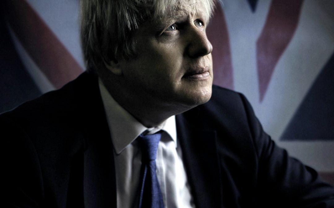 Portrait of Boris Johnson