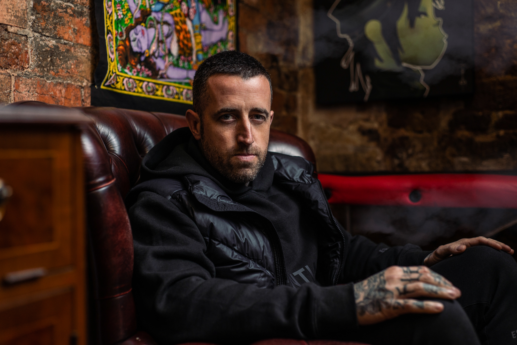 Tattoo Artist Portrait Photography Kettering Dunstable