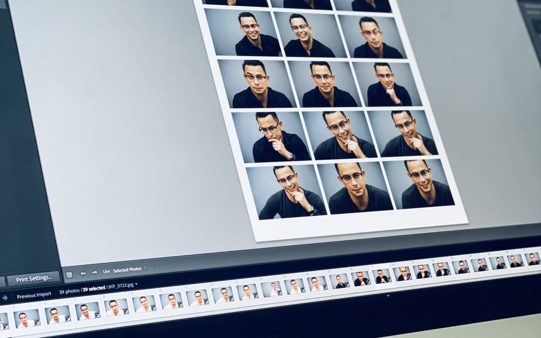 how many images will you get from your headshot session