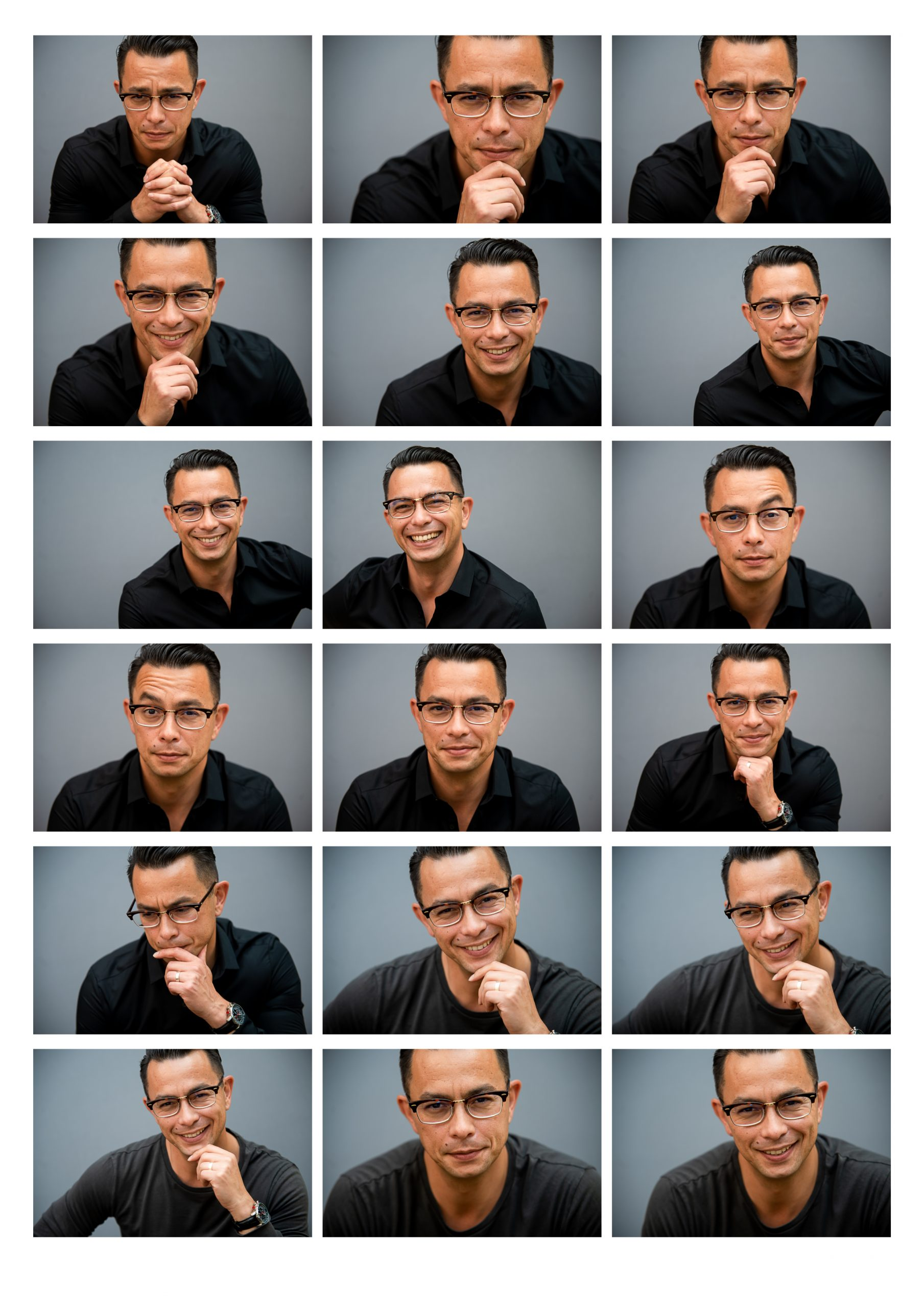 how many photographs do you get from a headshot session